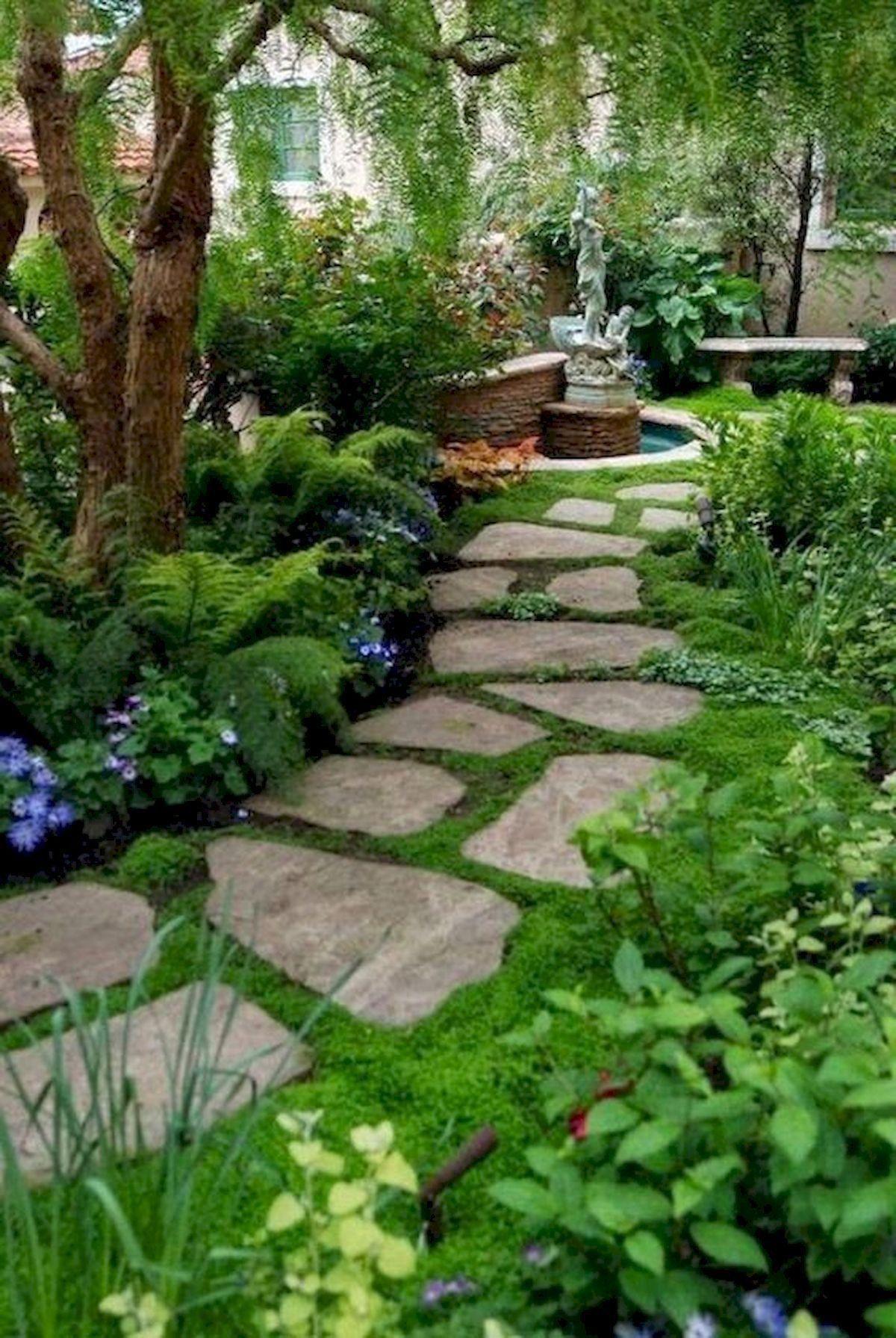 80 Best Garden Design Ideas For Making Your Page Beautiful Bestgardendesi Pathway Landscaping Small Garden Design Ideas Low Maintenance Backyard Garden Design