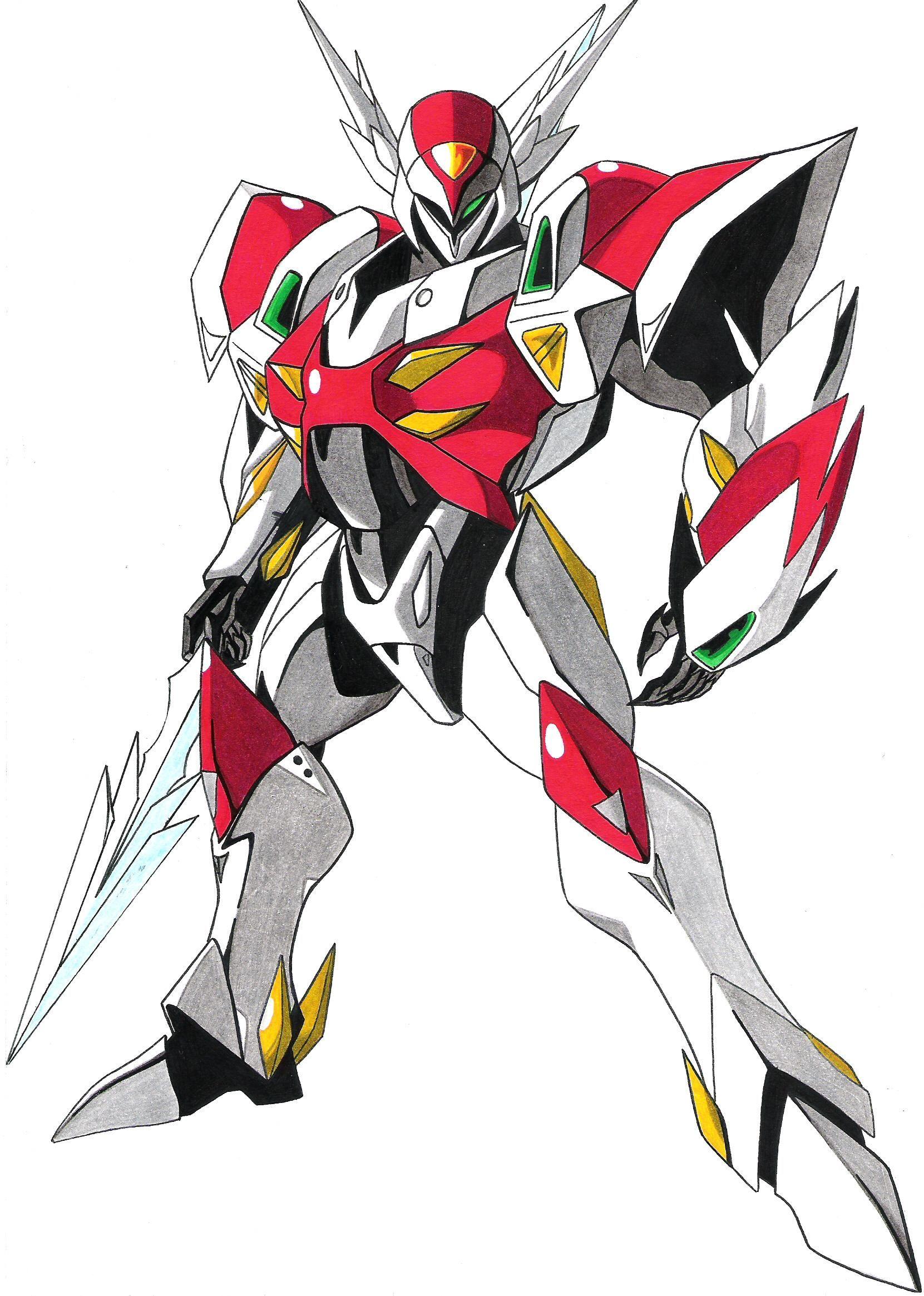 Teknoman Tekkaman blade, Anime, Robots concept