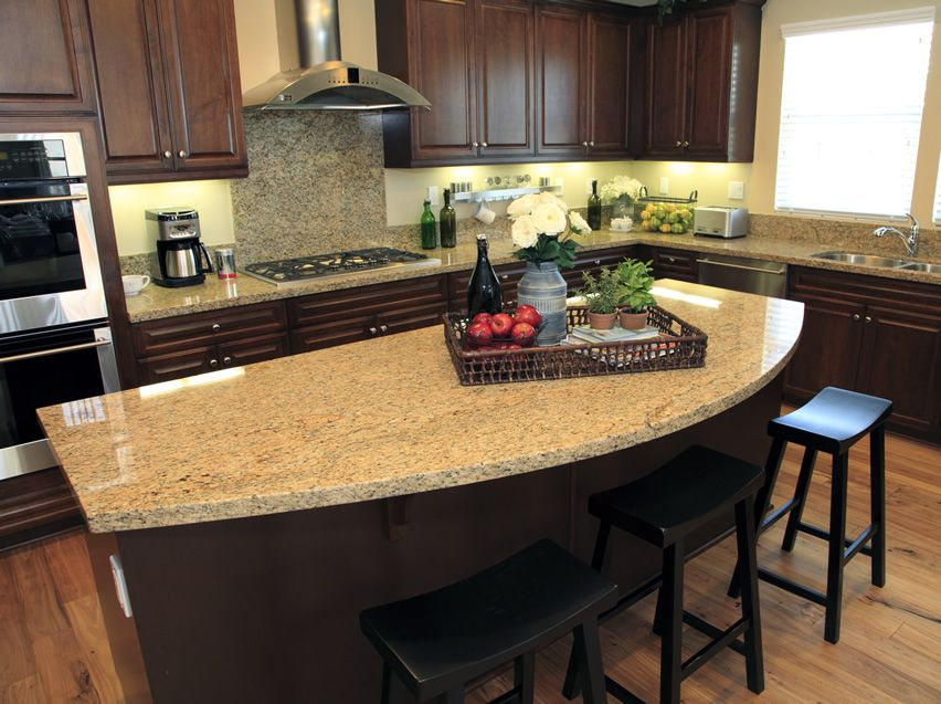 79 custom kitchen island ideas beautiful designs for Granite countertop design ideas