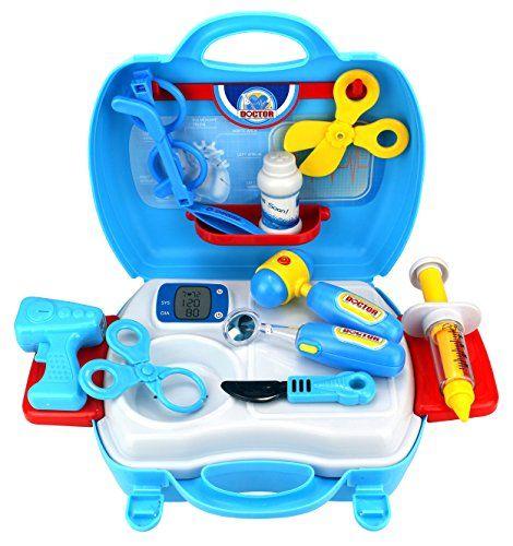 Dream Doctor Suitcase Children's Kid's Pretend Play Toy Doctor ...