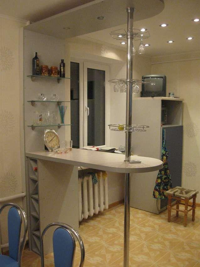 Барная стойка для дома 200 фото | Барная стойка на кухне ...