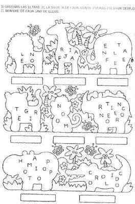 Actividades para Jardineros y Escolares   NIÑOS ...