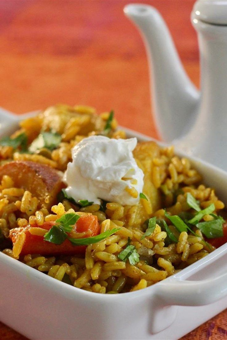 Modern ways of cooking rice with vegetables