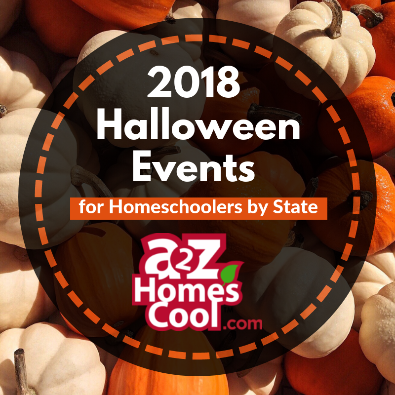 2018 Halloween Events for Homeschoolers by State (With