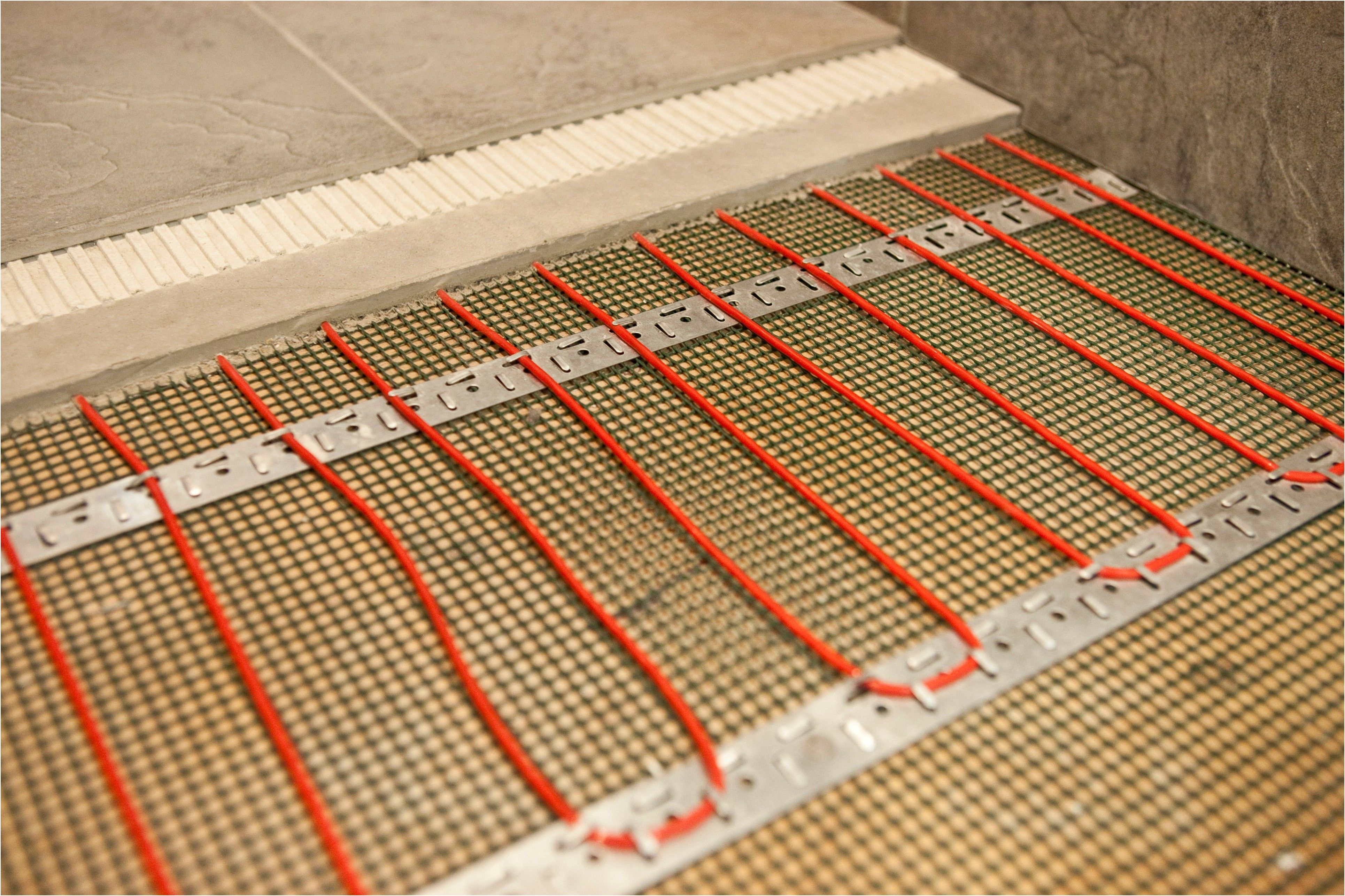 How Much Does Radiant Floor Heating Cost Angie S List From Heated - How much do heated bathroom floors cost