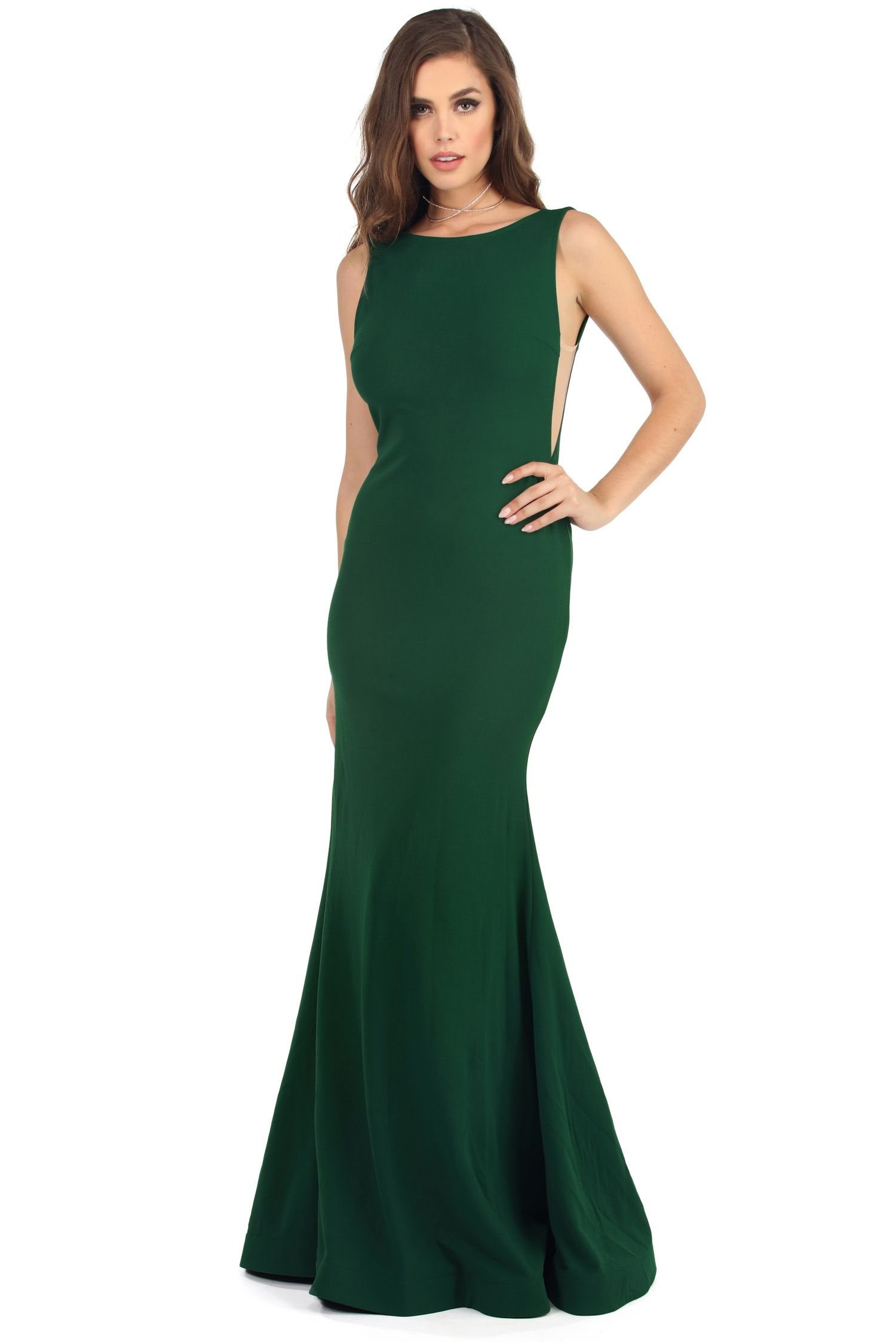 Zara Emerald Backless Beauty Dress | windsor | Engagement Shoot :D ...