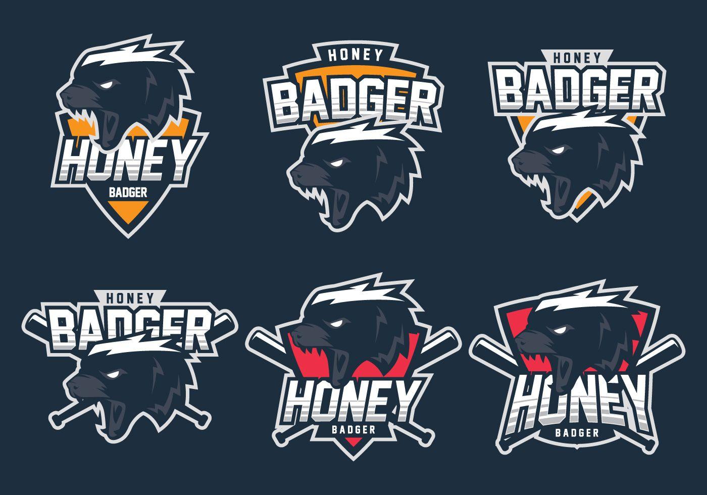 Honey Badger Logo Honey badger
