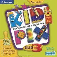 Kids Pix Software - Best childhood computer game #flashback