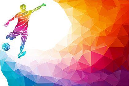 Crystal Football Football Artwork Soccer Art Background Banner