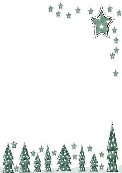 free christmas printable,christmas writing paper,christmas tree - christmas word document template