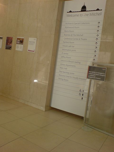 Large Floor Directory Flooring Signage Personalized Items