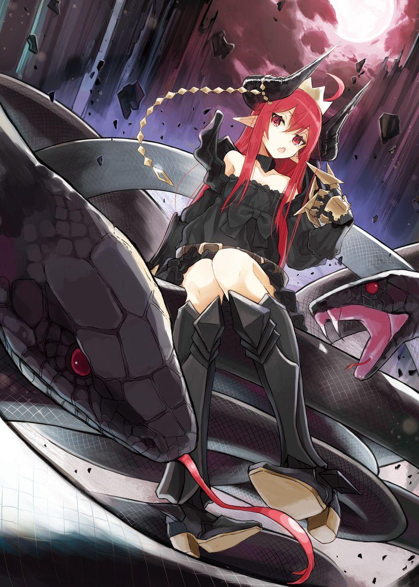 Anime miruto netsuki demon girl anime monster girl anime 850 1192 fantazy - Hot demon women ...