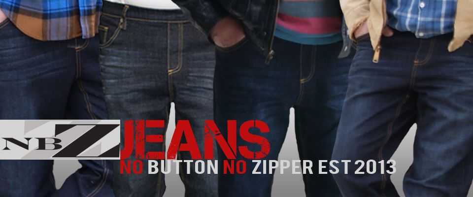 c61302a13c Trouble with buttons or zippers  NBZ Jeans are jeans for men that feature  soft
