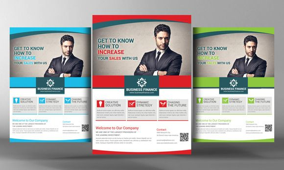 Business And Finance Corporate Flyer By Business Templates On