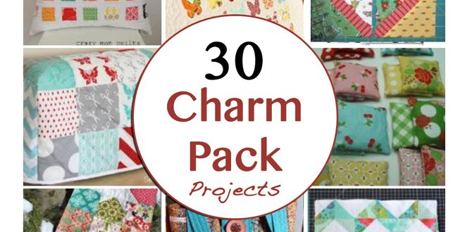 What Can You Do With a Charm Pack? In the quilting world charm packs are versatile and economical. They are adorable precut5 inch squares and have twenty to thirty squares per pack. Here are 30 ch…