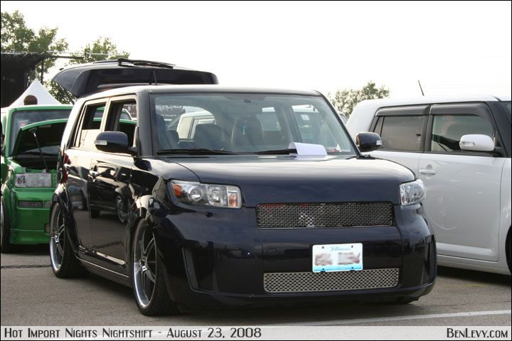 Scion Xb With Custom Grill Benlevy Com Scion Xb Toyota Scion Xb Scion