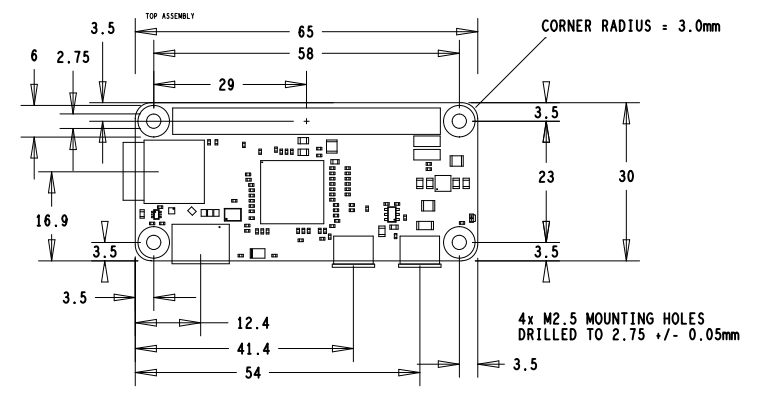 Pi Zero Mechanical Diagram | Electronic Diagrams in 2019 ... Raspberry Pi Schematic Diagram on