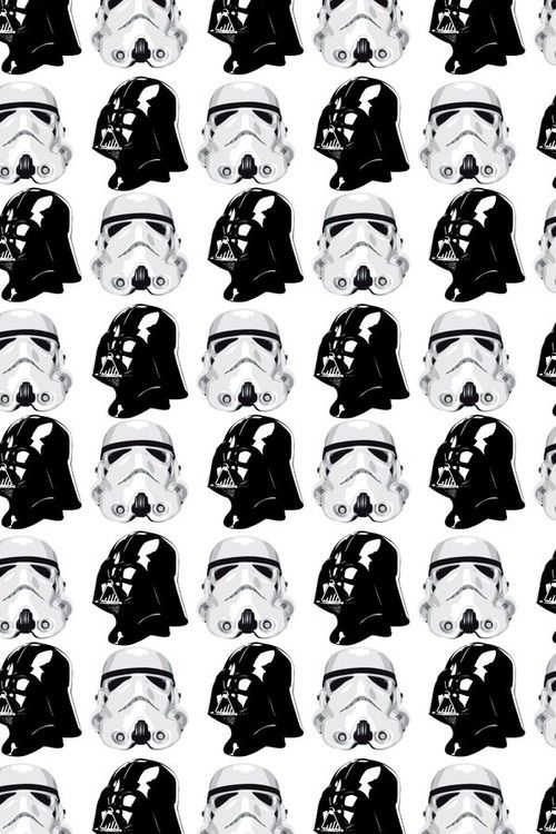 Pattern Black White Star Wars Repeatendlessly Pinterest Delectable Star Wars Pattern