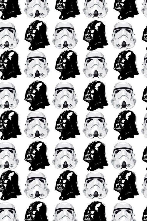 Pattern Black White Star Wars Repeatendlessly Pinterest Delectable Star Wars Pattern