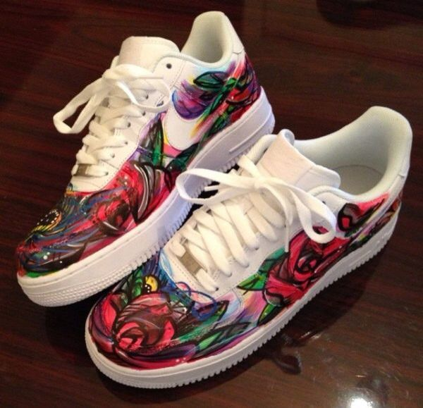 d1db769ce05 US Mens size 13 Air Force One custom Nike Sneakers