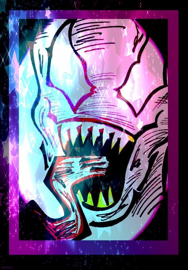 Venom from Marvel Spider Man Comics