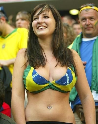 world soccer Sexy girls cup fans