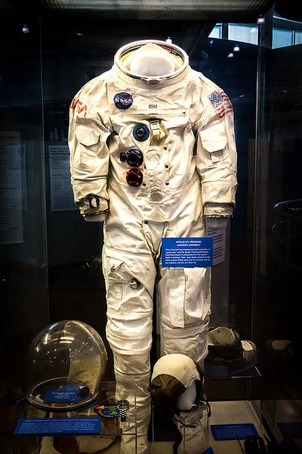 Nasa Space Suit Flight Museum Dallas Texas Usa