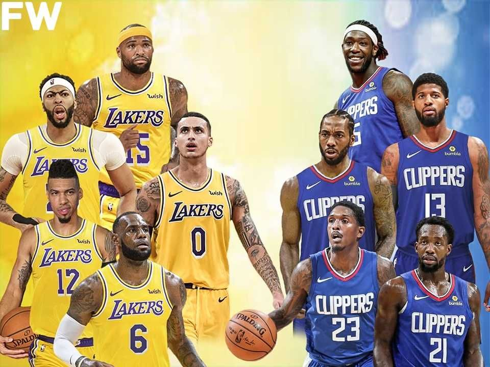 The Game Everyone Wants To Watch Los Angeles Lakers Vs Los Angeles Clippers News Break Lakers Vs Los Angeles Clippers Los Angeles Lakers