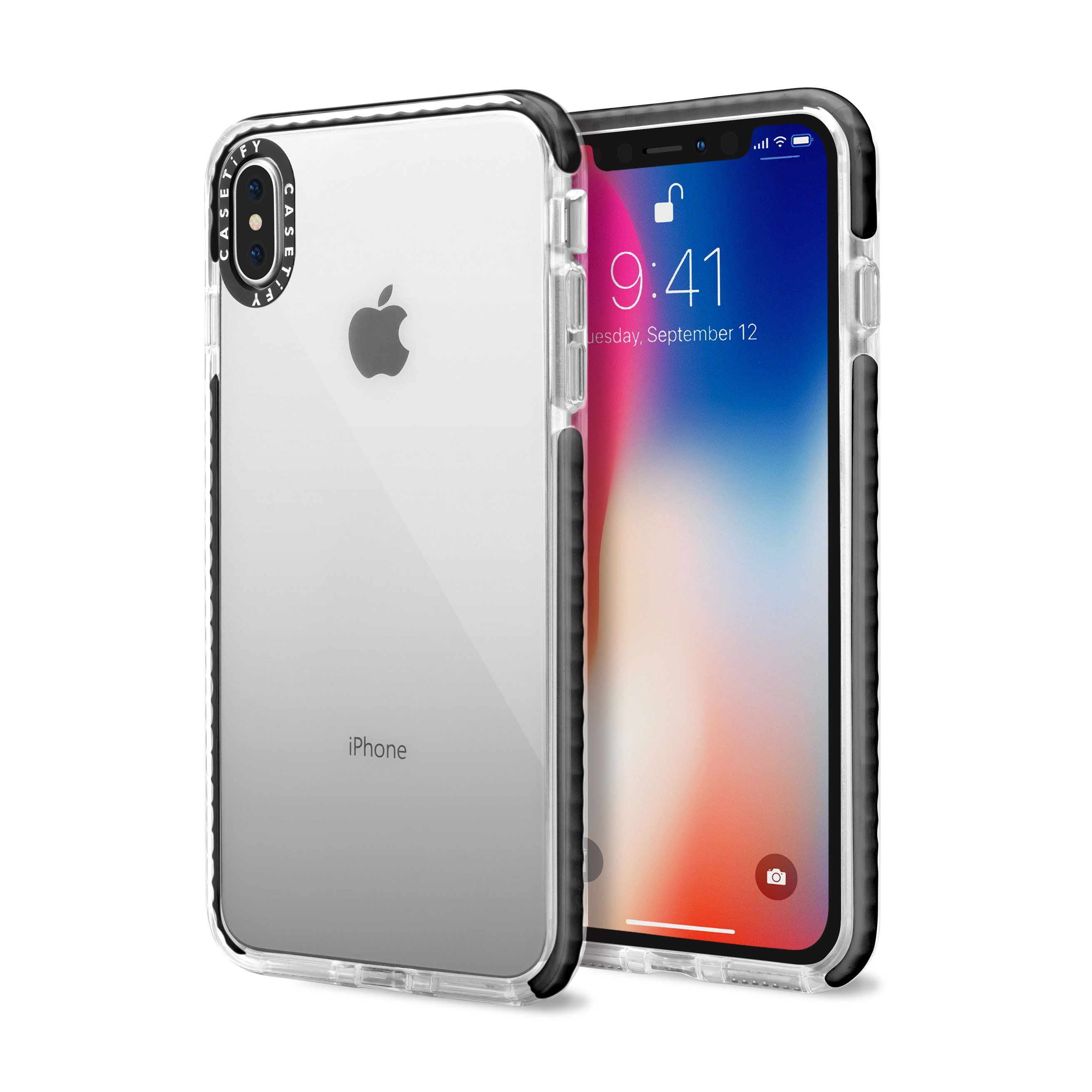Casetify x essential impact clearblack for iphone xs max