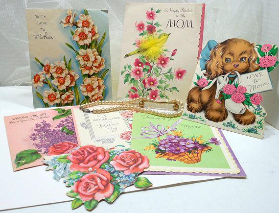 Vintage greeting cards to mother vintage mothers day cards vintage greeting cards to mother vintage mothers day cards birthday card to mother m4hsunfo
