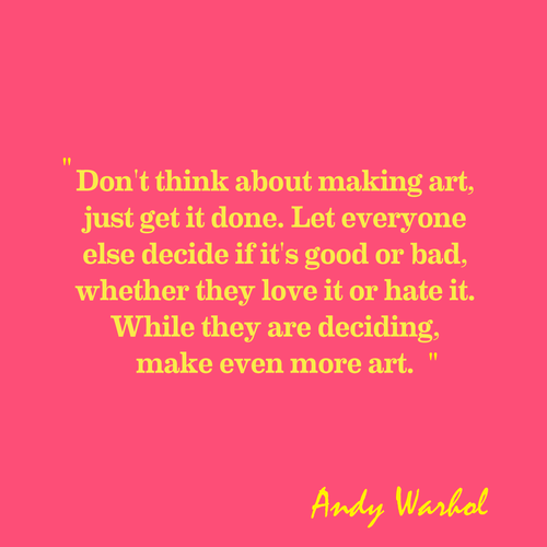 Andy Warhol Quotes Awesome Andywarholquotessayingsmakingartbestquote 500×500  Art