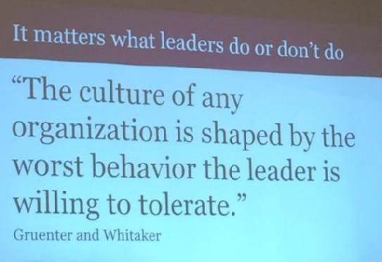 """It matters what leasers do or don't do. 