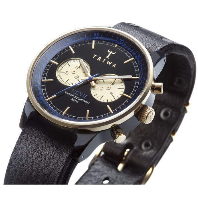 TRIWA Nevil Blue Raven horloge | Collectie 2012! | triwa horloge, triwa horloges