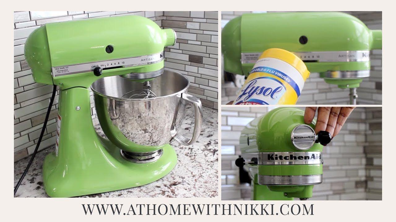 How to paint your kitchenaid mixer youtube kitchen aid