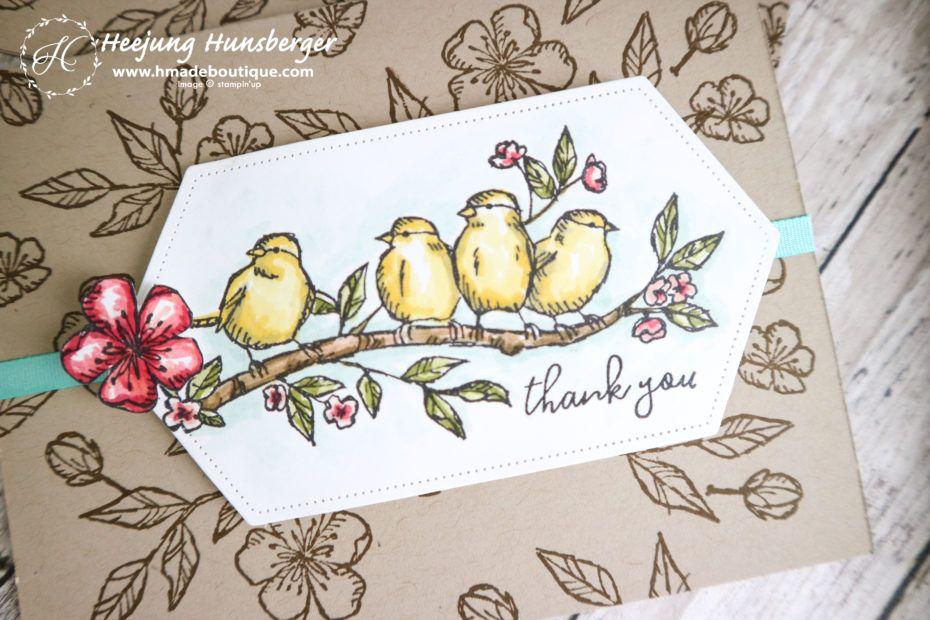 free as a bird thank you card  card maker thank you