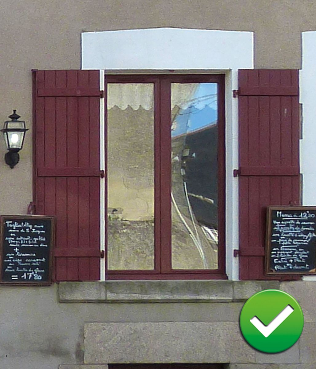 Exceptionnel Porte Fenetre Pvc Volet Roulant Integre 9 Les  ~ Idee Couleur Peinture Volet Bois