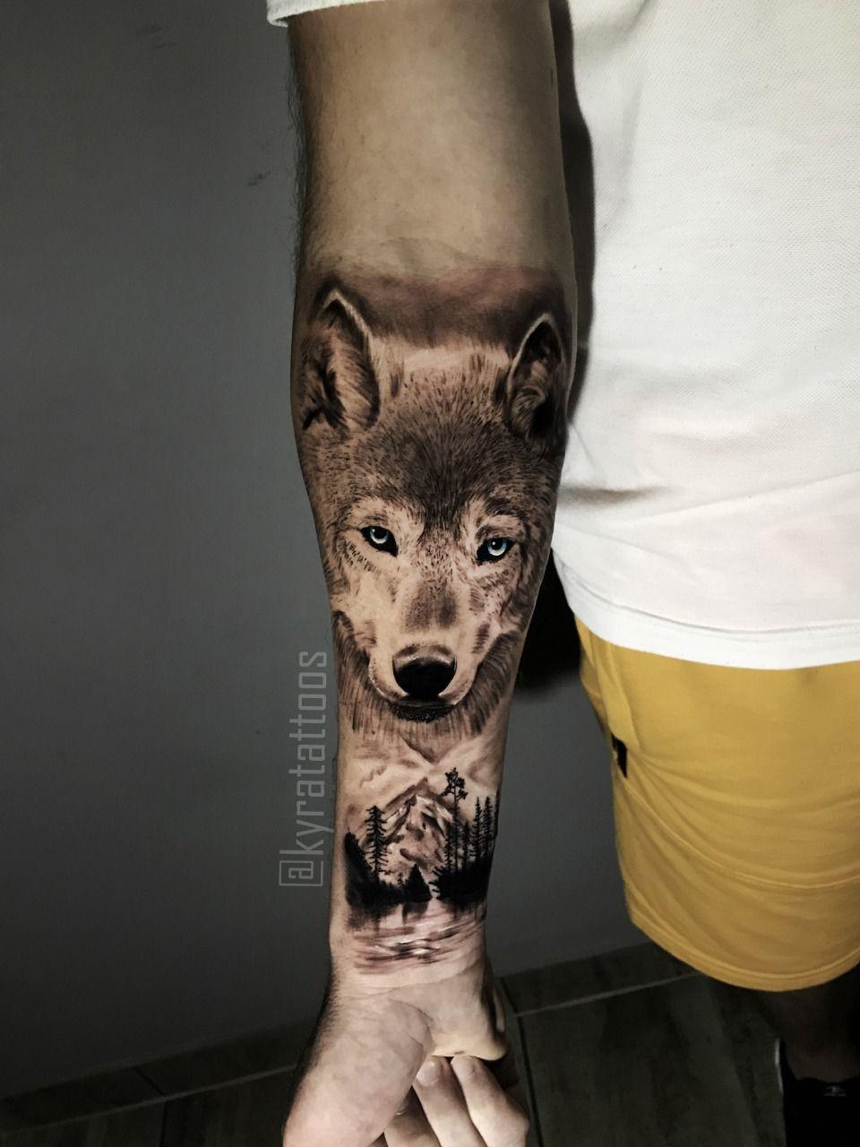 #tattoo #tattoolobo #wolf #tatuagem #realismotattoo