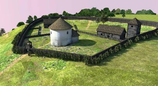 Ducové-Kostolec. Veľkomoravské hradisko (www.kostolec-ducove.eu)