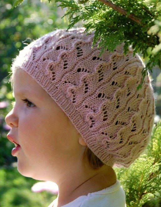 летние шапочки для девочек спицами схемы и описание 8 моделей
