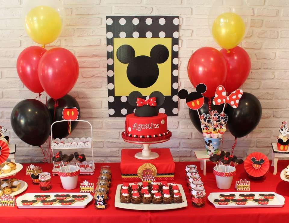 Mickey Mouse / Minnie Mouse / Birthday \