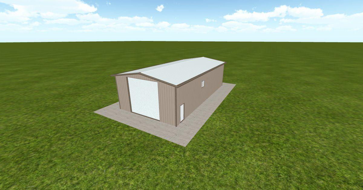 Dream #steelbuilding built using the #MuellerInc web-based 3D #design tool http://ift.tt/1HjjKCa