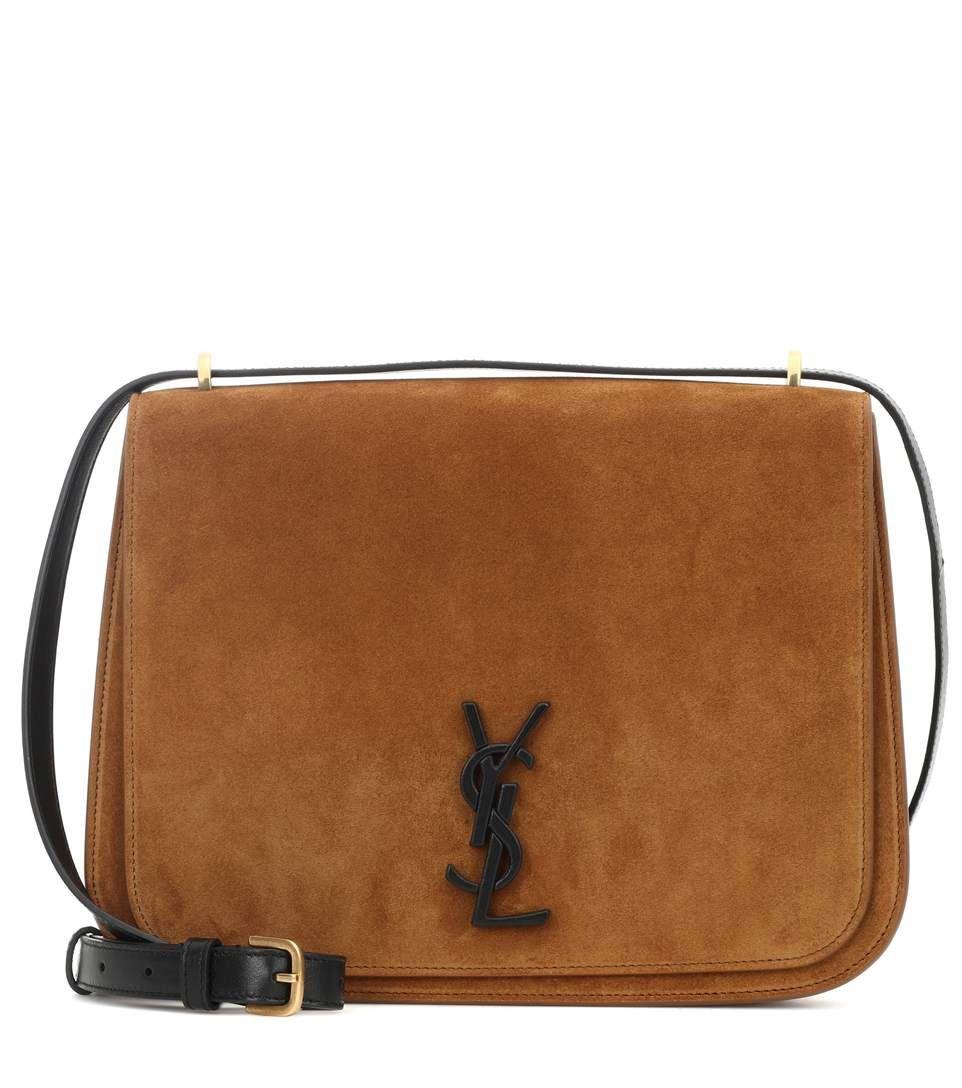 94bfbaa0ca Saint Laurent Spontini Medium suede shoulder bag