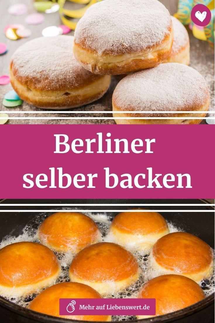Berliner backen: Mit diesem Rezept geht das ganz einfach