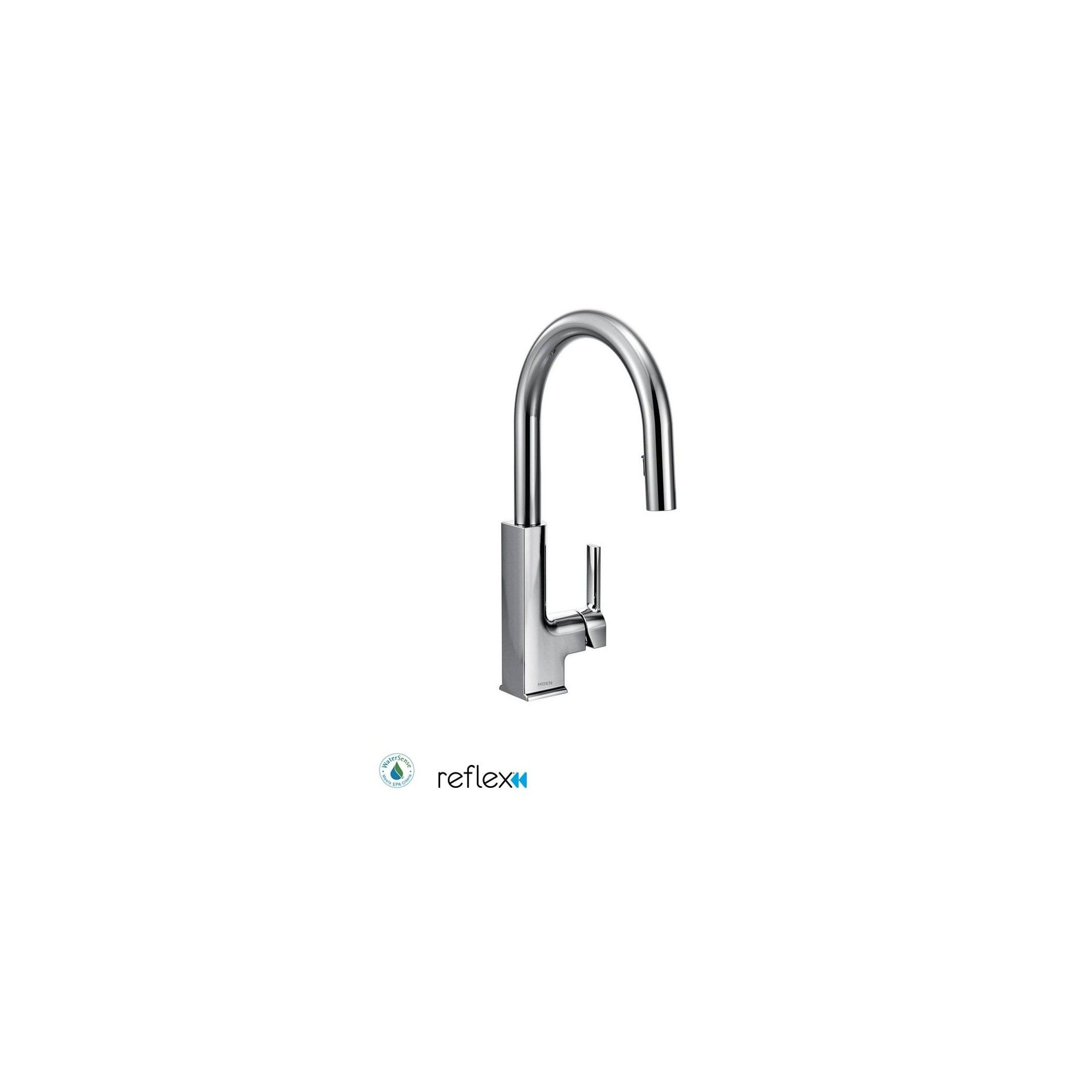 Moen S72308 Single Handle Pulldown Spray Kitchen Faucet Chrome