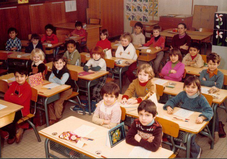 Photo de classe Cp ou ce1 de 1980, Ecole Rigaud