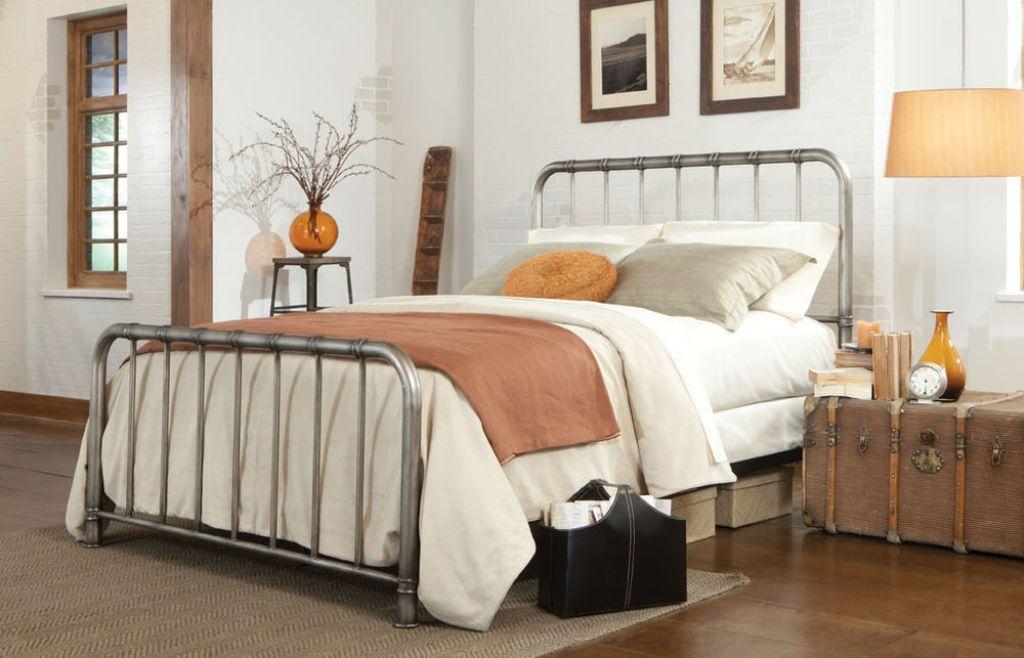 Image result for iron bedframe king size metal bed frame