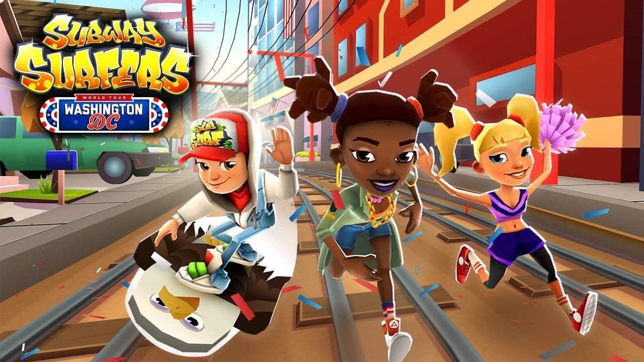 Washington Dc Popout Map%0A Subway Surfers World Tour      Washington  D C Android iOS Gameplay for