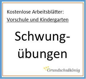 Für Die Vorschule Und Den Kindergarten Kostenlose Arbeitsblätter