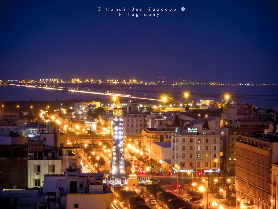 Tunis by Night.. by Hamdi Ben Yaakoub
