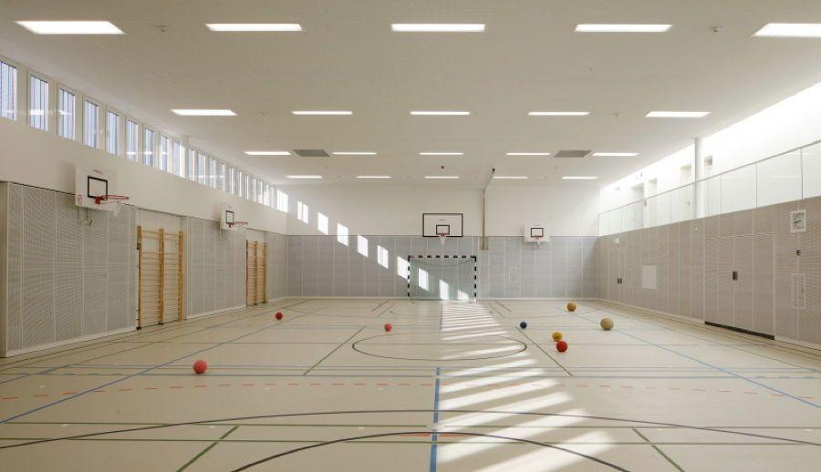 Sporthalle franz mehring schule leipzig sport for Interieur team leipzig
